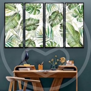 Other - Tropical Leaves Wall Decor